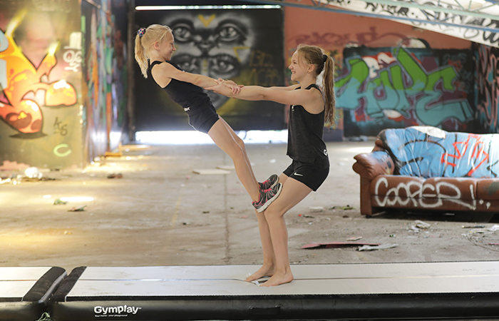 The best airtrack mat for gymnastics - see the price here