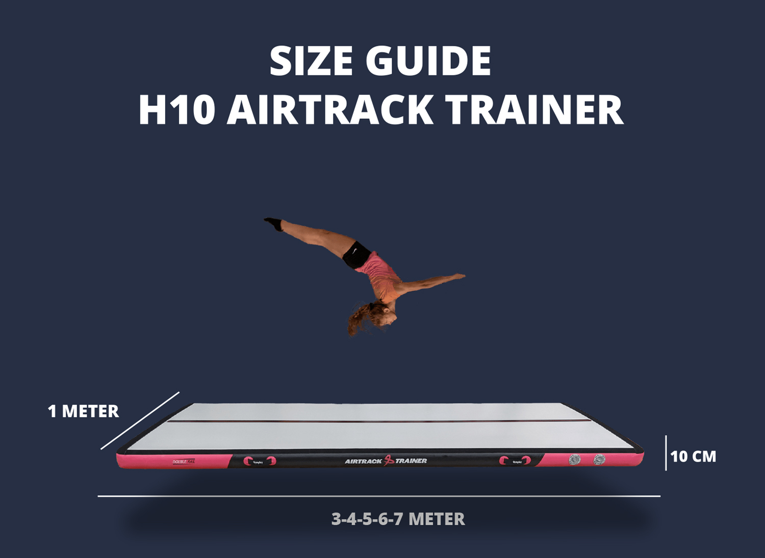 Gymplay AIRTRACK-H10-SIZE-GUIDE
