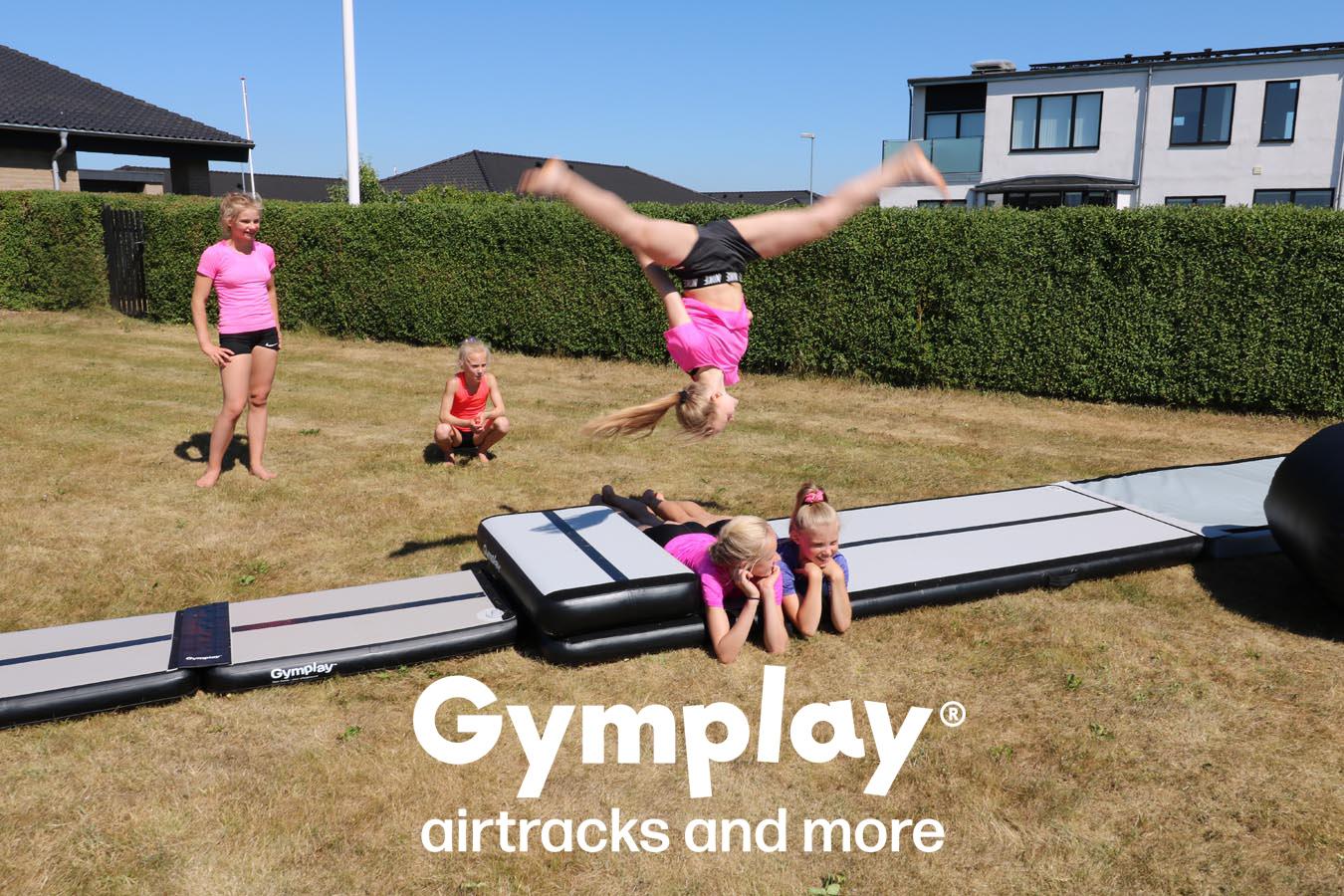Gymplay Airtracks and logo