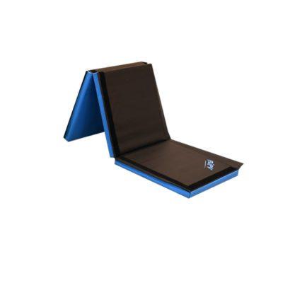 flipz brick mat black -blue half folded